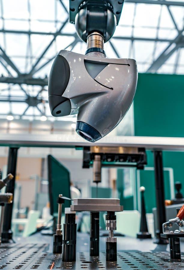 sensores ópticos del escáner 3D que permiten las imágenes de alta definición 3D fotografía de archivo