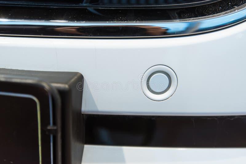 Sensores del estacionamiento en un coche imagen de archivo libre de regalías