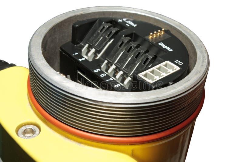 Sensores industriales. fotografía de archivo libre de regalías
