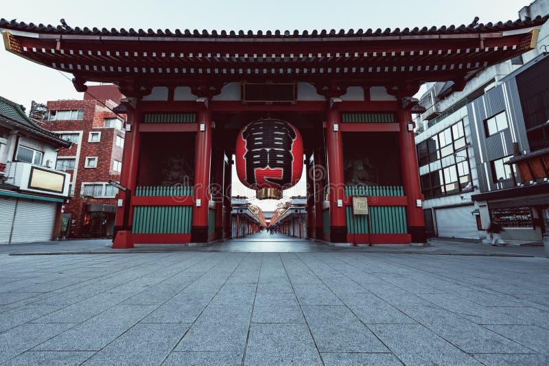 Sensouji temple stock photo