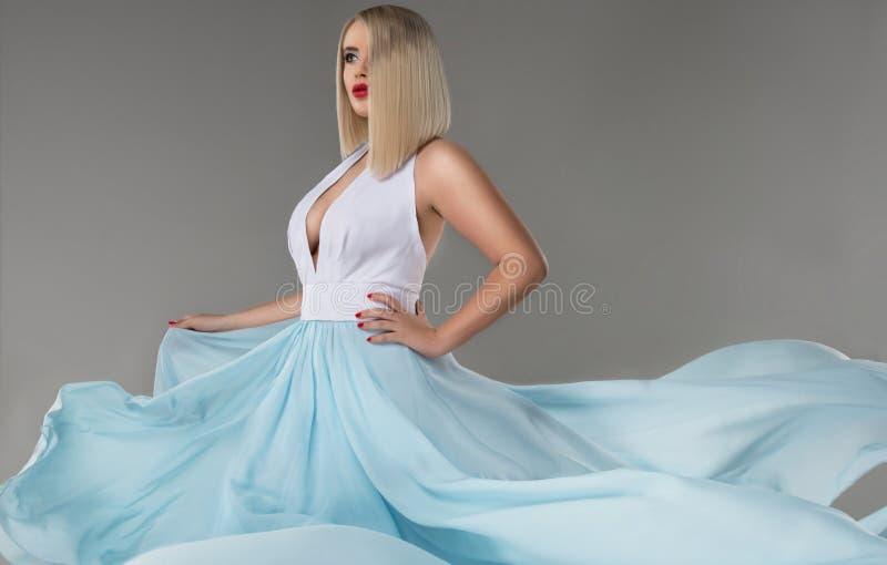 Sensual blonde woman stock image