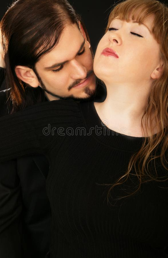 Download Sensual Couple 2 stock image. Image of glamour, embrace - 4265459