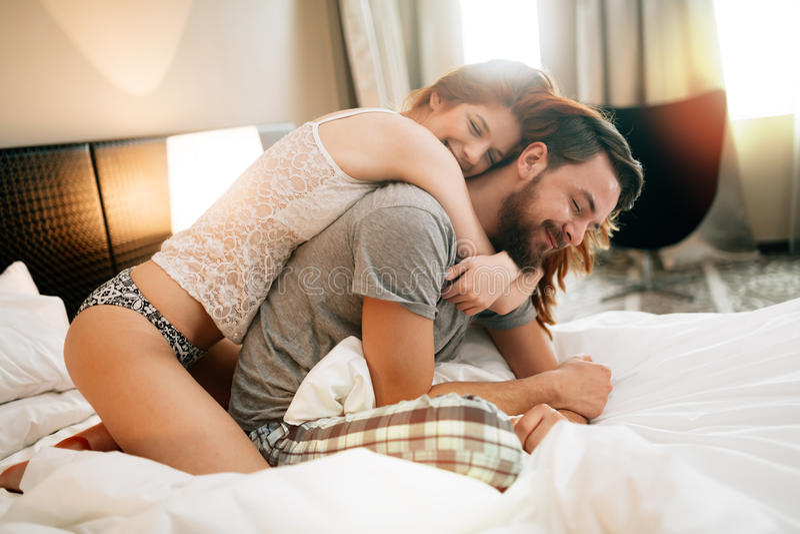 Sensual couple in bed being romantic stock image image of people download sensual couple in bed being romantic stock image image of people love altavistaventures Images