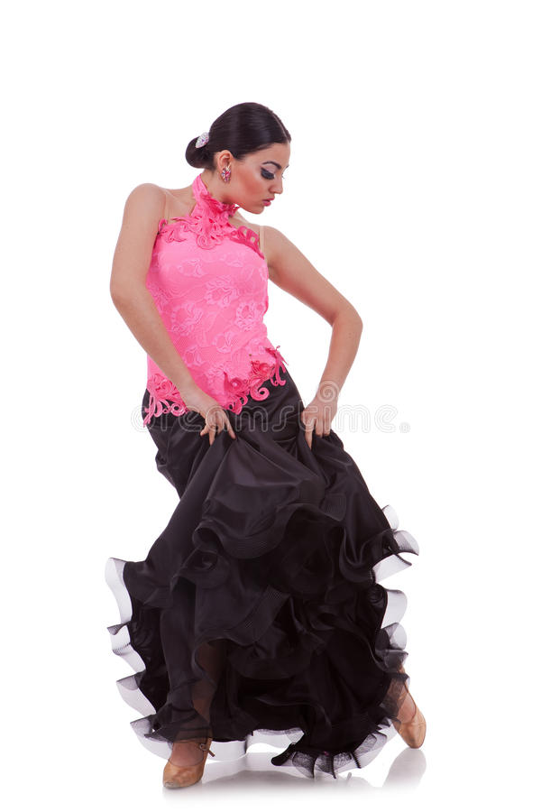Download Sensual latino dancer stock photo. Image of quick, full - 25079068