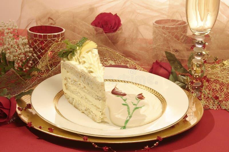 Sensual lemon Poppy Cake royalty free stock photo