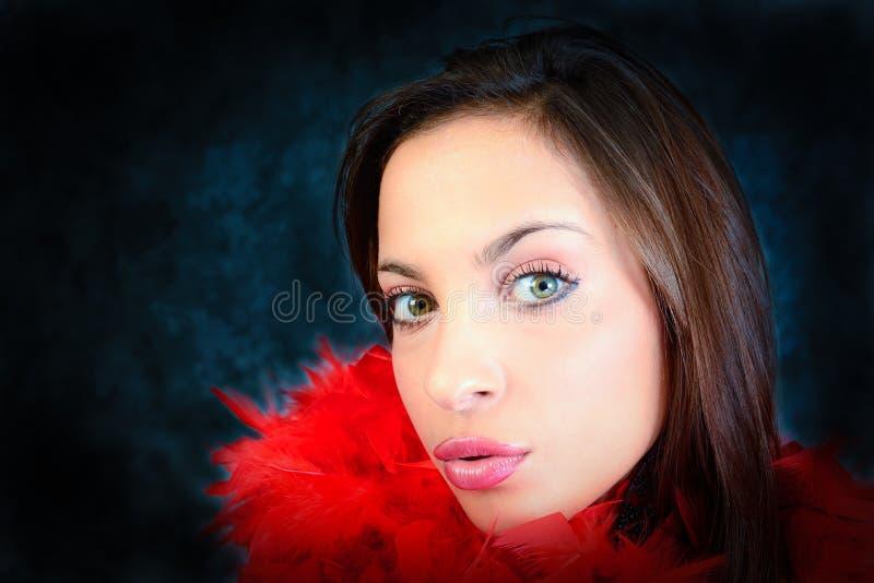 Download Sensual lips stock image. Image of vogue, brown, model - 28384149