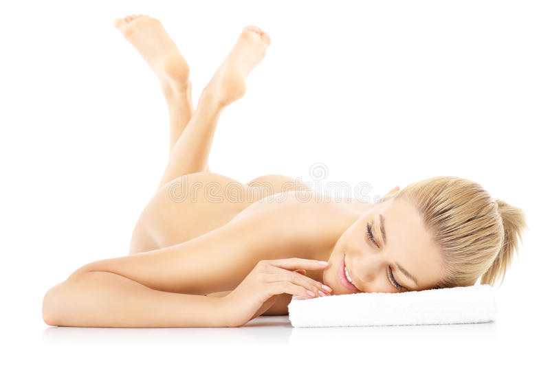 Download Sensual naked woman stock photo. Image of body, isolated - 39504176
