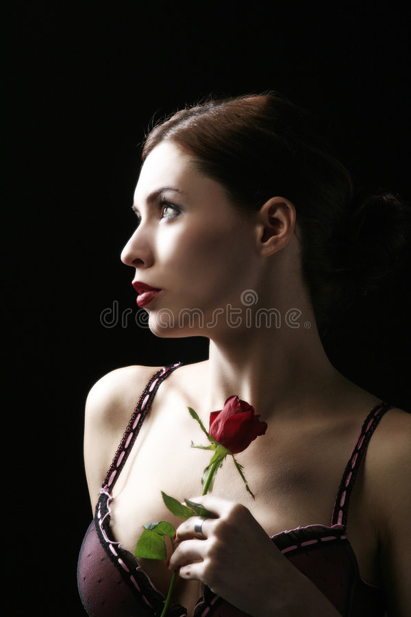 Sensual portrait royalty free stock image