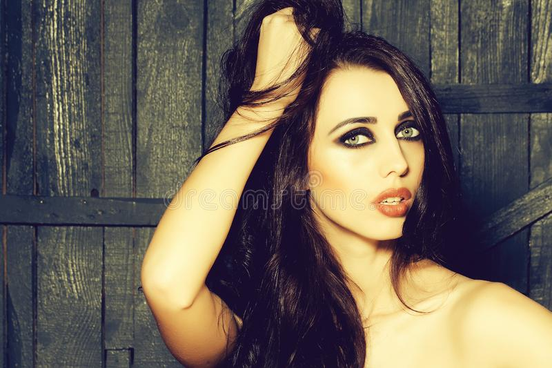 Sensual sexy woman royalty free stock photos