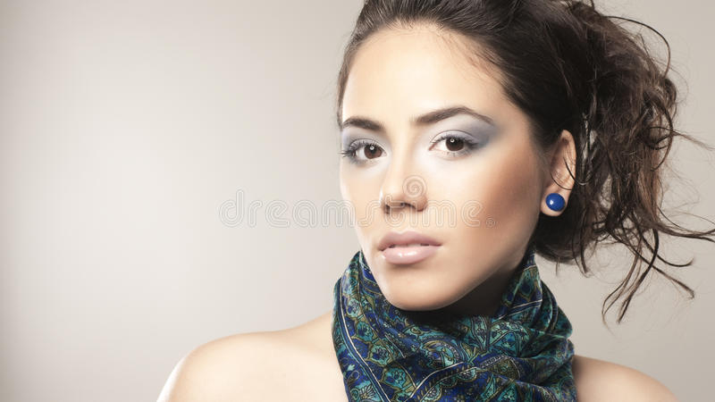 Download Sensual sight stock image. Image of soft, scarf, material - 14020325
