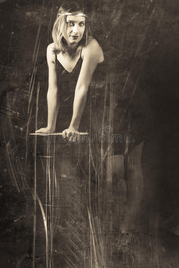 Sensual woman. Of the 30s stock images