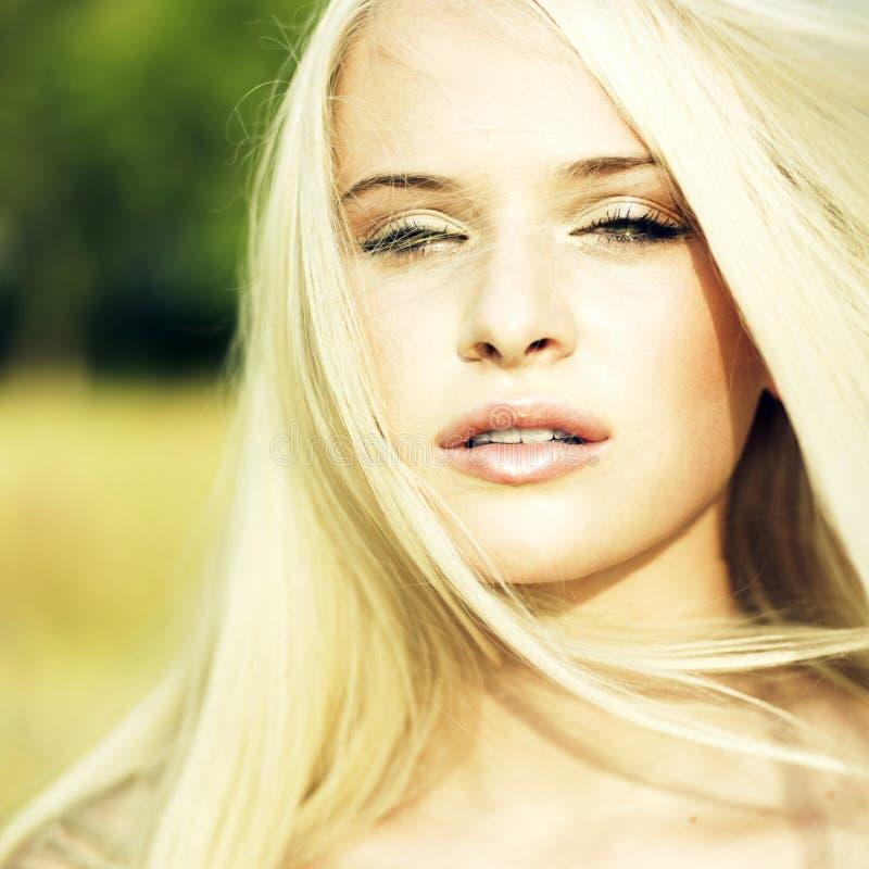 Sensual Young Woman Royalty Free Stock Photos