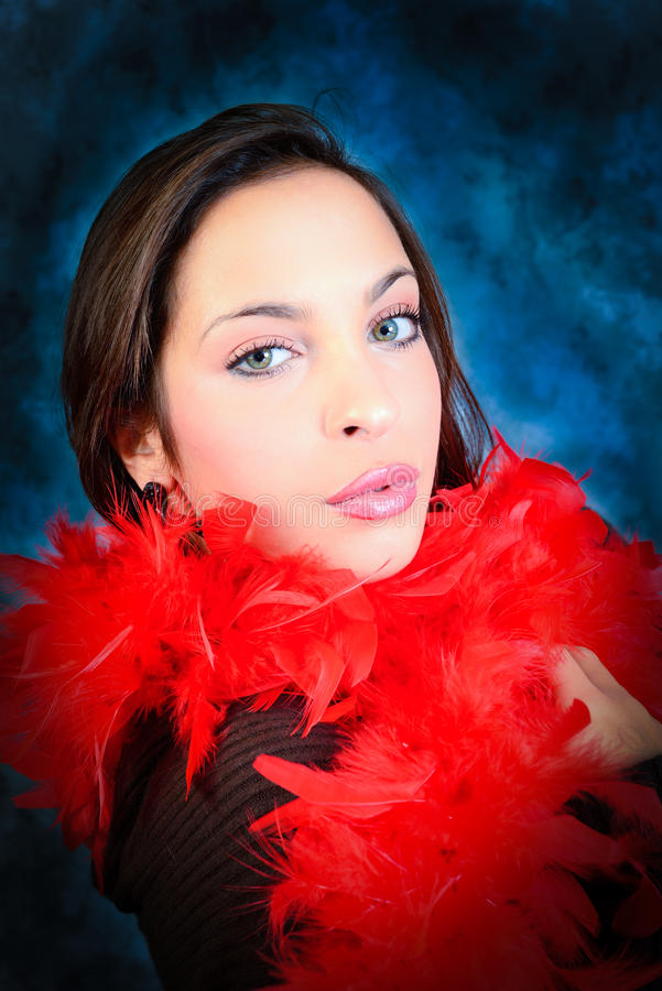 Sensual young woman royalty free stock photo