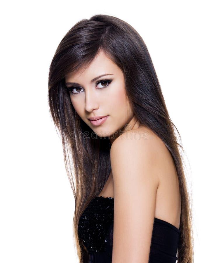 Free Sensuality Beautiful Woman With Long Hair Royalty Free Stock Photo - 17155775
