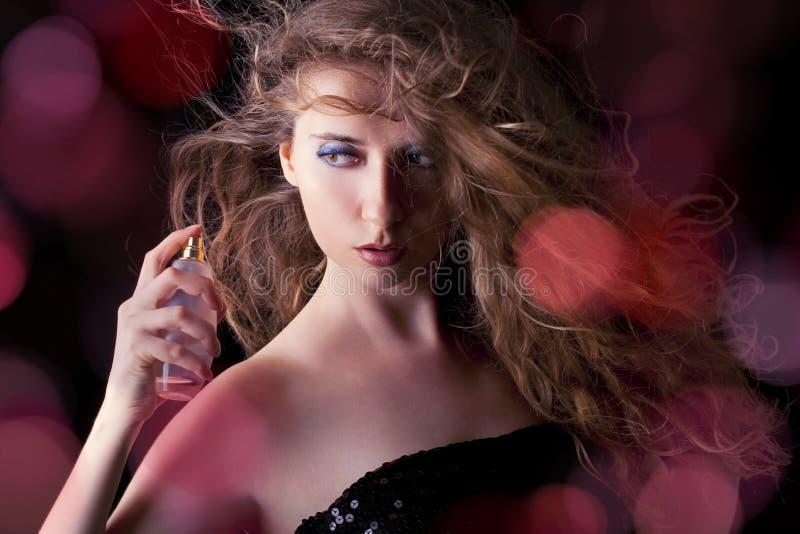 Sensueel parfum stock foto's