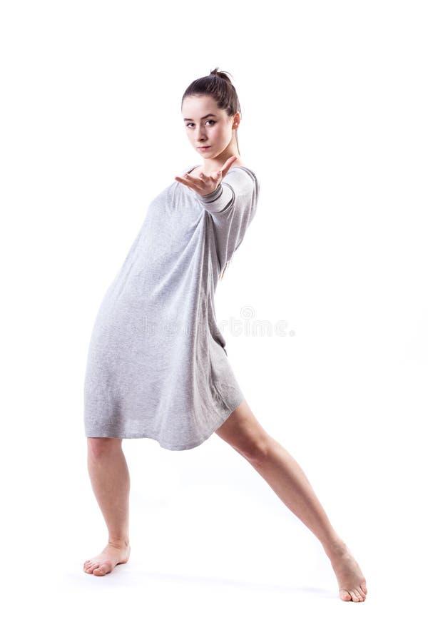 Sensuele danser royalty-vrije stock afbeeldingen