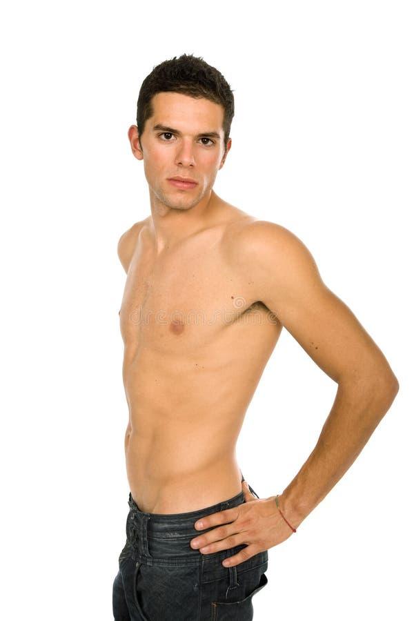 Sensuele mens royalty-vrije stock fotografie
