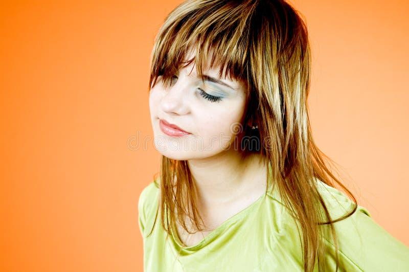 Sensuele tiener royalty-vrije stock foto's