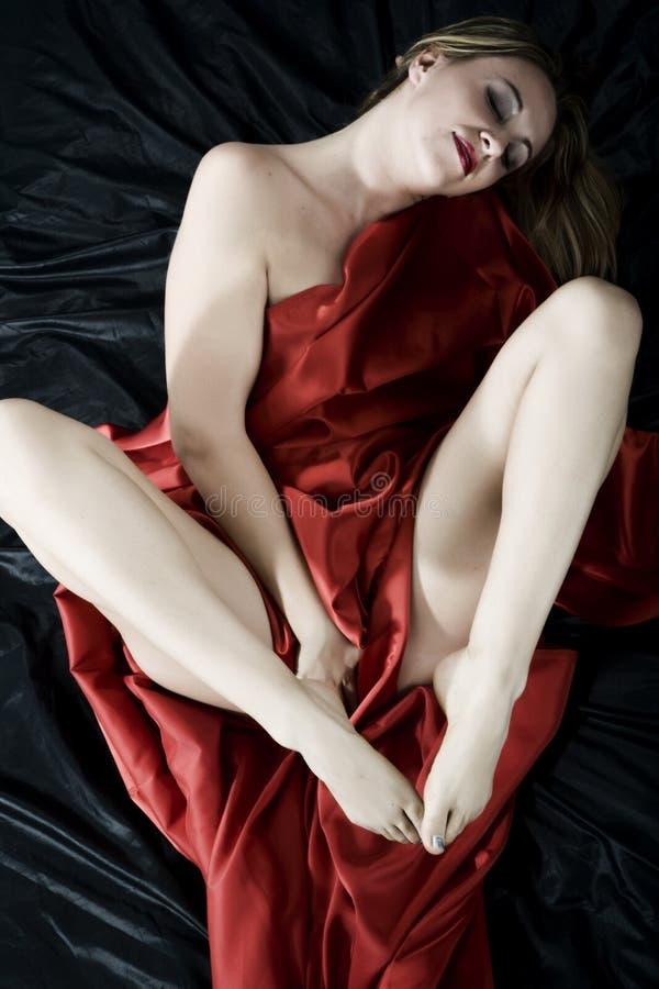 Sensuele vrouw royalty-vrije stock afbeeldingen