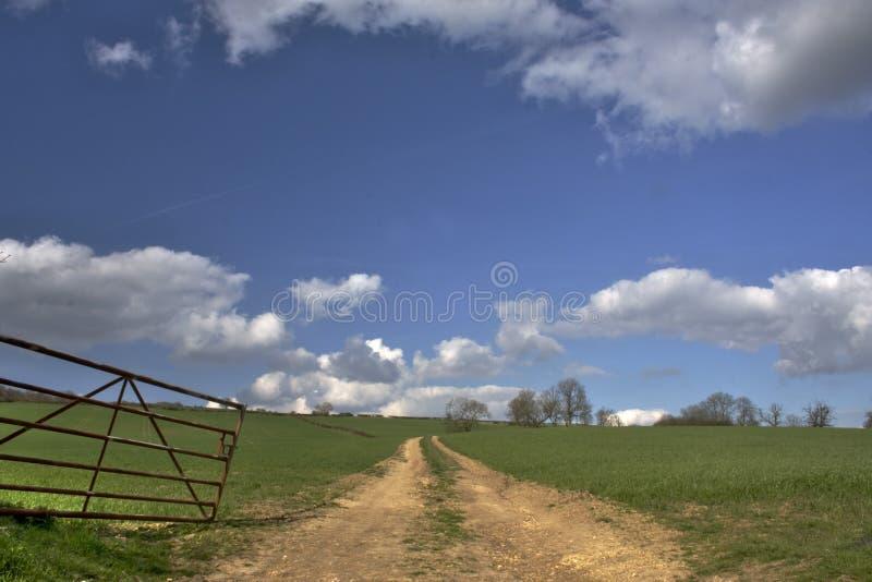 Sentier d'exploitation de Rutland photographie stock libre de droits