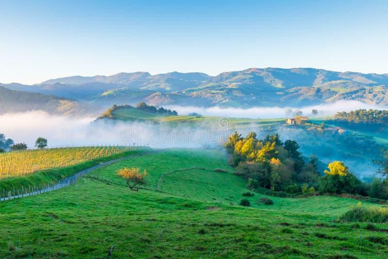 Sentier de randonnée en Espagne photographie stock