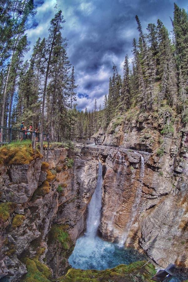 Sentier de randonnée de pots d'encre photos stock