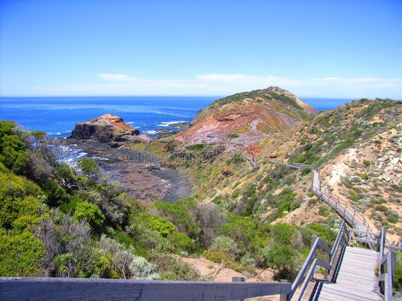 Sentiero costiero di Schanck del capo immagini stock libere da diritti