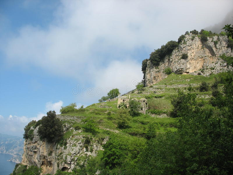 Sentiero degli Dei - Costiera Amalfitana lizenzfreie stockbilder