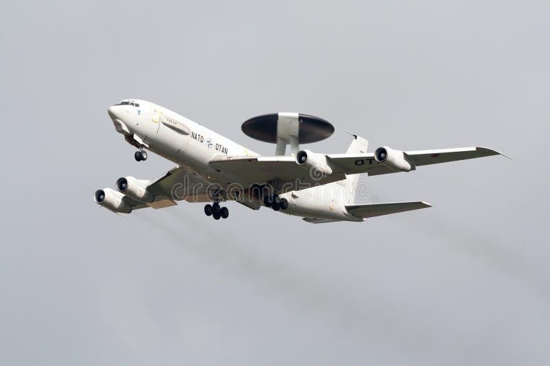 Sentinela da OTAN E-3 fotos de stock