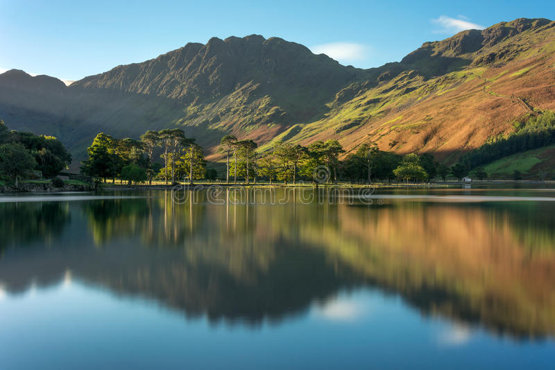 The Sentinels, Buttermere, Lake District, UK. stock image