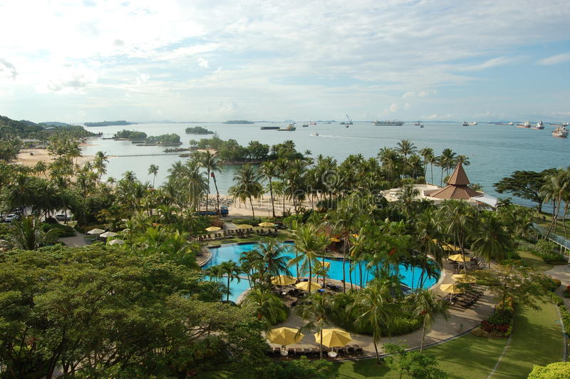 sentosa νησιών στοκ εικόνα με δικαίωμα ελεύθερης χρήσης