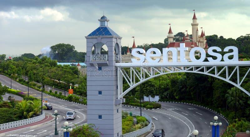 Sentosa-Insel stockfoto