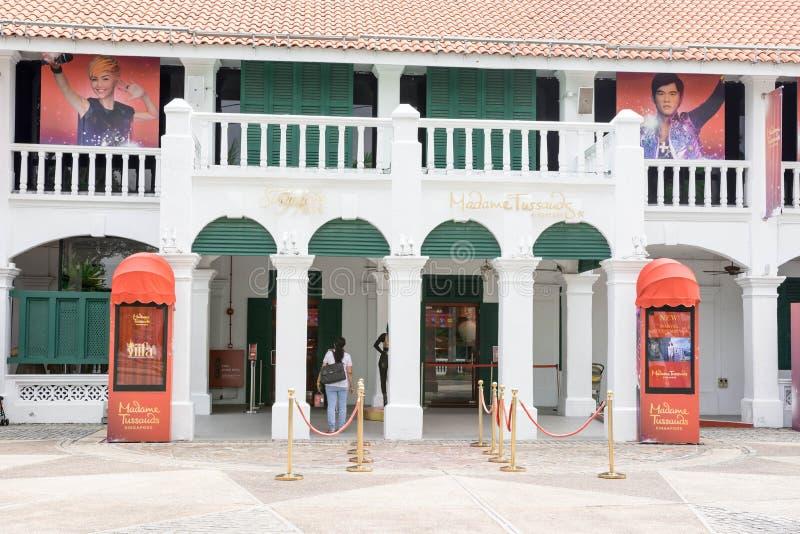 Sentosa Madame Tussauds, Singapur, am 15. März 2019 lizenzfreies stockbild
