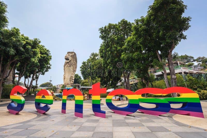 Sentosa Singapore immagini stock