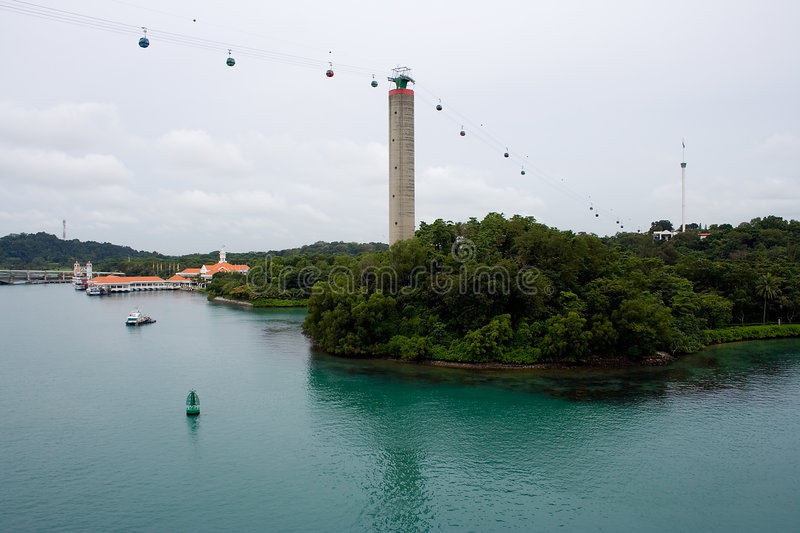 Download Sentosa, Singapore stock image. Image of greenery, asia - 414447