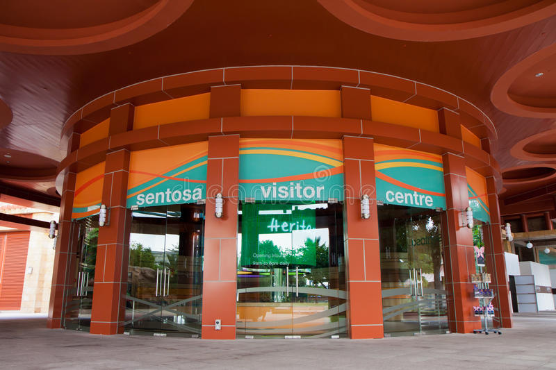 Sentosa Visitor Centre royalty free stock photo
