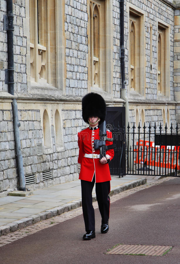 Download Sentry At Royal Windsor Castle Editorial Photography - Image: 21615302