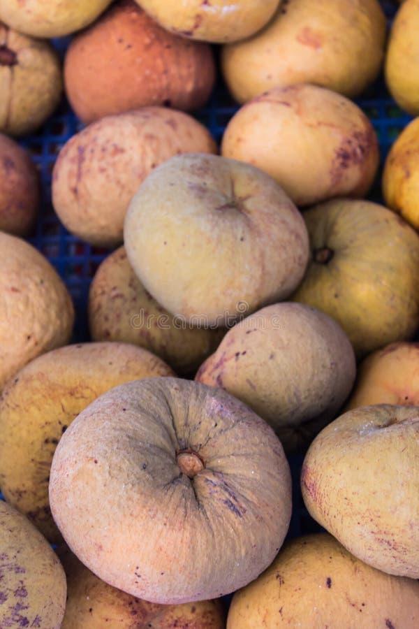 Sentul, Thais fruit in markt royalty-vrije stock foto's