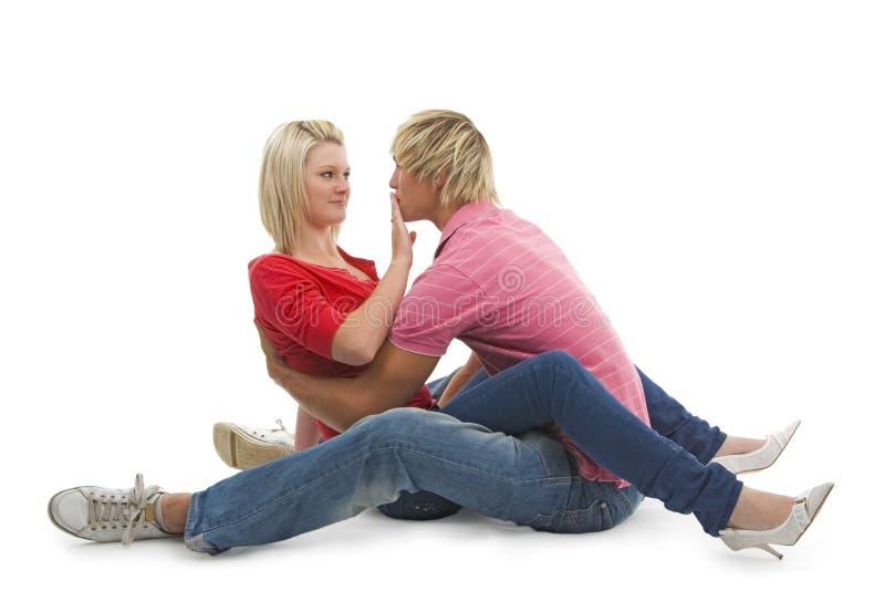 Senza bacio! fotografie stock libere da diritti