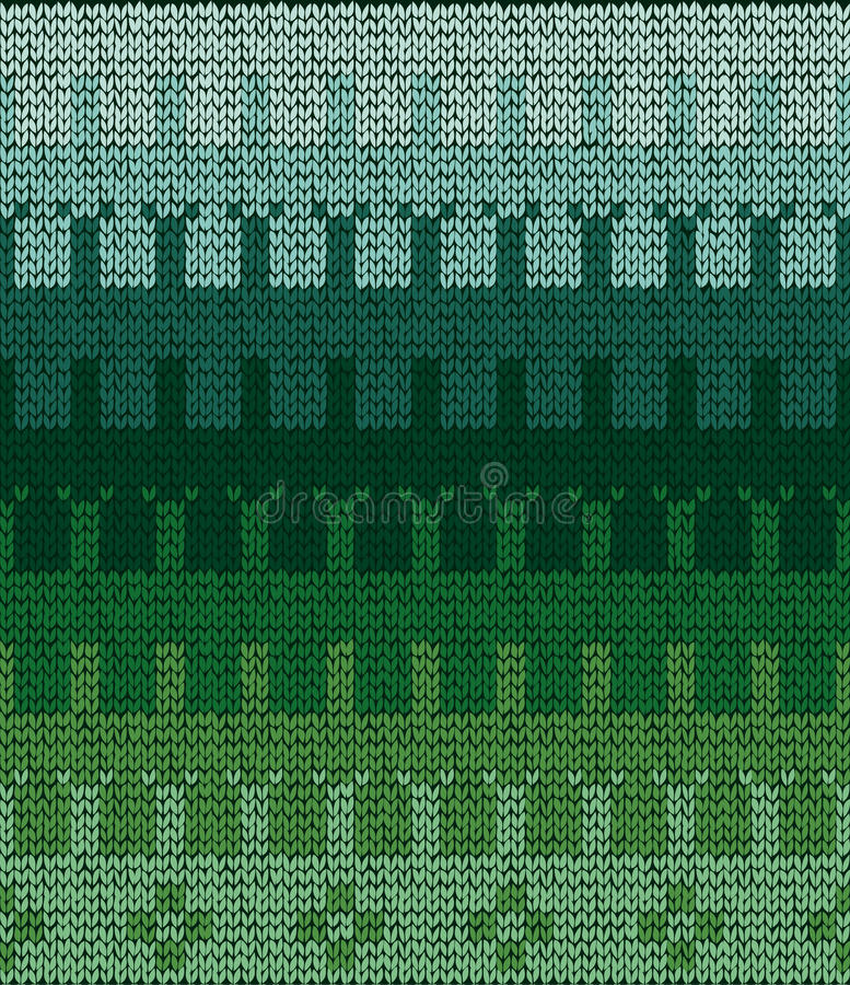Senza cuciture tricotti il maglione pattern_4 illustrazione di stock