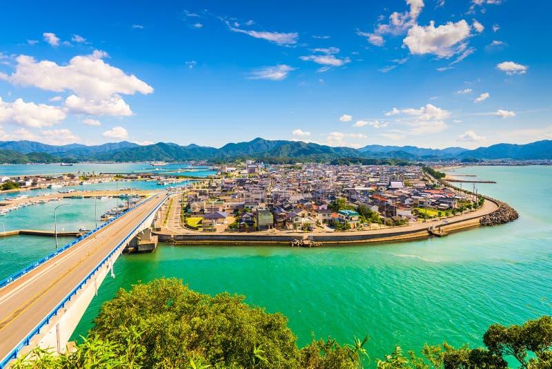 Senzaki au Japon images libres de droits