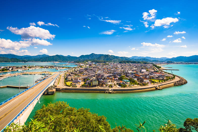 Senzaki, Yamaguchi, Япония стоковые фотографии rf