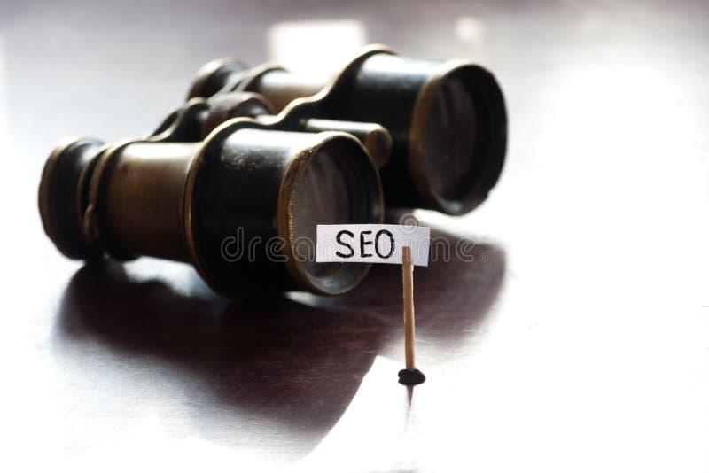SEO概念 免版税图库摄影