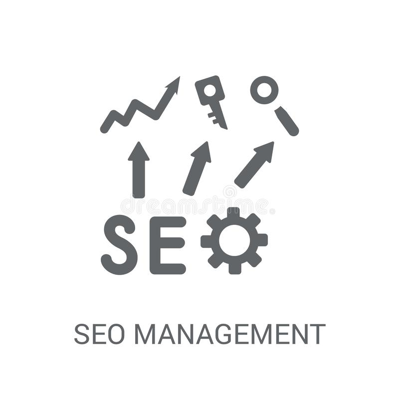 Seo管理象  库存例证