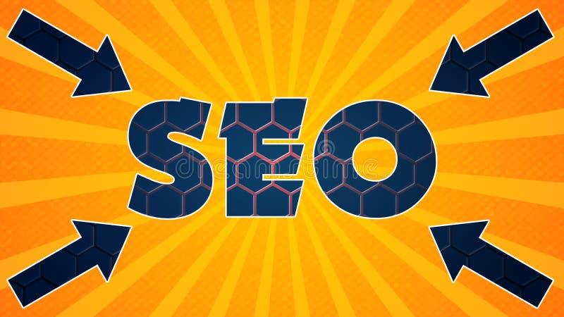 Seo γραφικά 006 - έτοιμος γραφικός απεικόνιση αποθεμάτων