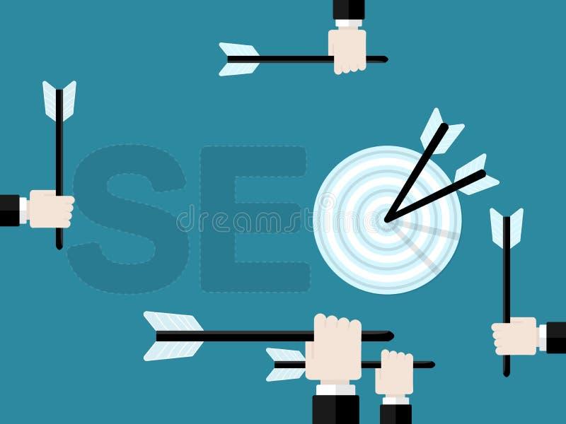 SEO stock illustrationer