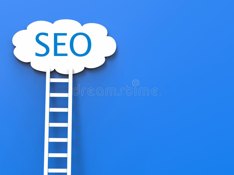Seo concept. Or search enging optimization concept stock images