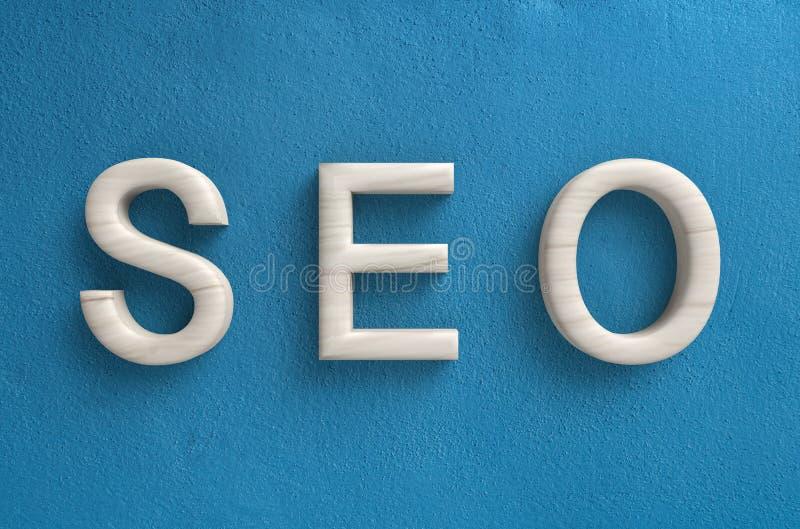 Seo concept. Or search enging optimization concept stock photos