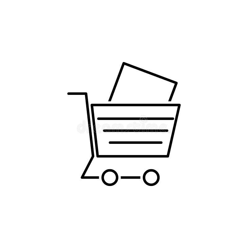 seo d'affaires, ligne icône de commerce électronique Travail d'équipe à l'idée Des signes et les symboles peuvent ?tre employ?s p illustration libre de droits
