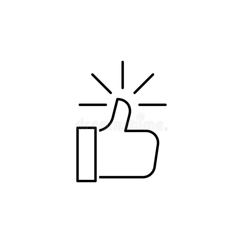 seo del negocio, como la línea icono Trabajo en equipo en la idea Las muestras y los s?mbolos se pueden utilizar para la web, log stock de ilustración